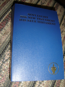 Trilingual New Testament / Croatian - English - German Language