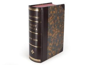 Hungarian Kaldi Catholic Bible REPRINT / Kaldi Gyorgy 1626 Szent Biblia Reprint
