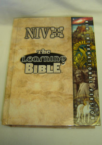 NIV - The Learning Bible / Full Color Study Bible with 500 Illustrations and Photographs