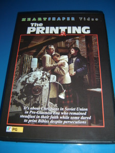 The Printing (DVD) It's About Christians in Soviet Union in Pre-Glasnost Era