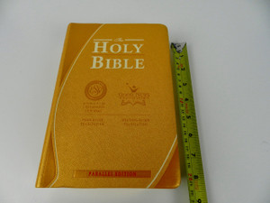 Holy Bible / English Standard Version - Good News Translation Parallel Bible with Cross References  Silver Edges
