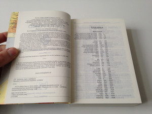 Slovenian Language Bible - Standard Version with Deuterocanonical Books / Sveto pismo - slovenski standardni prevod