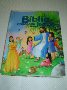 Bible for Toddlers in Portuguese Language / Biblia Crescendo com Jesus