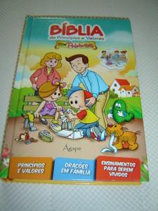 Biblia de Principios e Valores Com Palabritas / Children's Bible in Portuguese