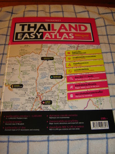 THAILAND EASY ATLAS - Billingual Englisch - THAI