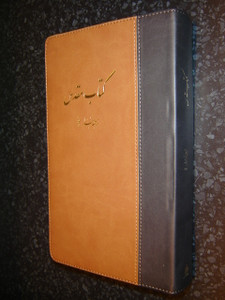 Farsi Bible / Persian Bible / Leather Bound Brown, with Gilded Gold Edges