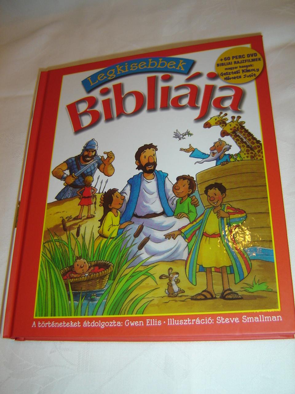 Legkissebbek Bibliaja / Read and Share Toddler Bible ...