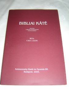 Bibliai Kate - Segitseg a Bibliai Gondolkodas Eltanulasahoz