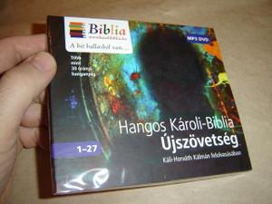 Hangos Károli - Biblia - ÚJSZÖVETSÉG / Káli-Horváth Kálmán felolvasásában / Hungarian language Audio Bible - New Testament / MP3 DVD 2014 / Veritas Kiadó (9786158014205)