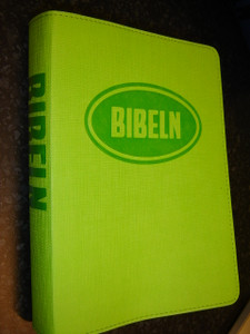 Swedish Bible for Young People / Bibeln from Bibelkommissinens oversattning (Green Vinyl Bound)