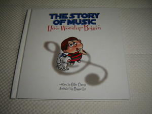 Story Of Music - How Worship Began / Illustrated Children's Book with Bonus CD