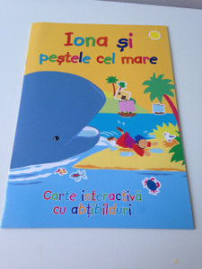Jonah and the whale - Sticker Book / Iona si Pestele cel Mare / Romanian Language Edition