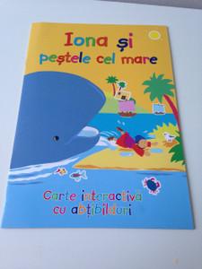 Jonah and the whale - Sticker Book / Iona si Pestele cel Mare / Romanian Language Edition
