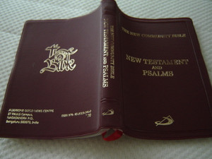 The New Community Catholic New Testament and Psalms / St Pauls Press / Burgundy Vinyl Cover