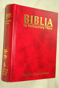 Tagalog Language Bible - Biblia Ng Sambayanang Pilipino / Katolikong Edisyong Pastoral / Thumb Indexed Pastoral Edition / Christian Community Bible in Tagalog Language  / Philippines