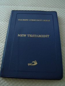 The New Community Catholic New Testament / St Pauls Press / Blue Vinyl Cover