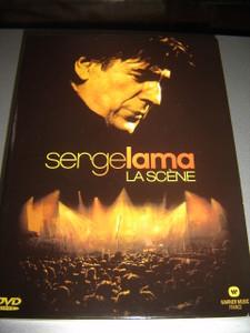 Serge Lama: La Scene (4 discs edition) / REGION 2 PAL DVD
