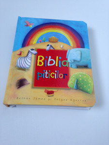 Romanian Language Toddler Bible / Biblia piticilor / Simple Text with Bright Illustrations