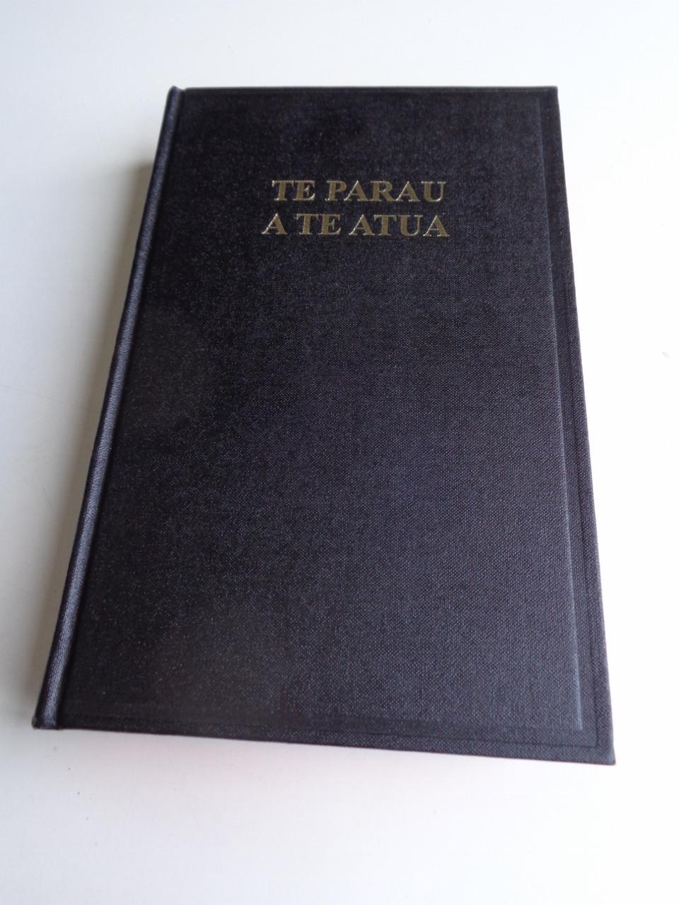 Tahitian Bible 053 Te Parau A Te Atua Te Bibilia Mo A Ra Oia Te Faufaa Tahito E Te Faufaa Api Ra Red Edges Black Hardcover Column References Bibleinmylanguage