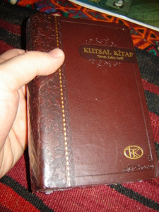 Turkish Bible / Dark Brown Cover / Kutsal Kitap [Vinyl Bound] by Bible Society