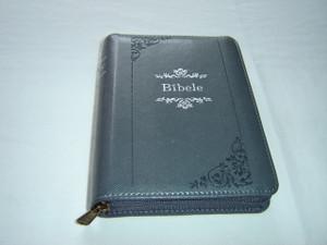 Latvian Bible - Black Leather Bound with Zipper (New Translation) Bibele ar Ravejsledzeju