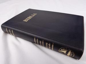 Black Vinyl Bound Romanian Bible / Biblia sau Sfanta Scriptura Cu Trimiteri / Cuvinte Domnului in Rosu Words of Christ in Red