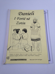 Daniel - Strong in the Lord / Danieli - I Forte ne Zotin / Albanian Language Edition - 6 Bible lessons with the Flannel board (Flashcard)