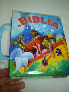 Tagalog Language Children's Bible / Biblia para sa Maliliit na Bata / Board book from 1-6 year old kids