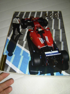 Official Ferrari Magazine Nr.29 Year 2015 May 24cm x 32cm Size Full Color / Full of Impressive Pictures