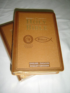 English - Tagalog Diglot Bible / ESV English Standard Version - Tagalog Ang Biblia / Golden Edges