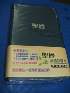 Chinese New Living Translation Holy Bible Chinese Traditional Characters with Pin Yin Romanised Text