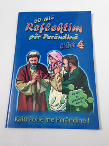 60 Day Wonder Devotional Book. 4. - Albanian Language Booklet for Children / 60 dite Reflektim per Perendine Libri 4.