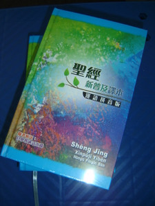 Chinese New Living Translation Holy Bible - Chinese Traditional Characters with Pin Yin Romanised Text