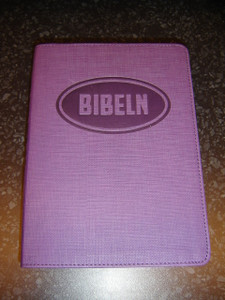 Swedish Bible for Young People / Bibeln from Bibelkommissinens oversattning (Purple Vinyl Bound)