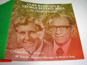 The Christmas Evangel / Cliff Barrows & George Beverly Shea / Timeless Classics / 30 Timeless Seasonal Messages In Word & Song