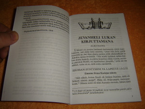 The Gospel according to Luke in the Northern Karelian dialect - Jevanheli Lukan Kirjuttamana