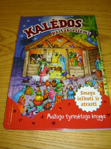 Look and find Bible stories - Christmas in the Lithuanian Language / Kaledos pastabiesiems - Mazojo tyrinetojo knyga