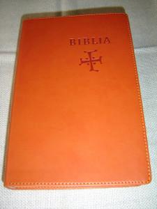 Slovak Bible, Orange Leather – Old & New Testaments