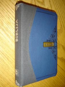 Biblija arba Sventasis Rastas, kanoninis leidimas, virselis su uztrauktuku / Lithuanian Bible