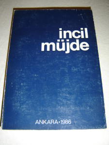 Incil Mujde: Turkish New Testament, Catholic Edition Ankara 1986