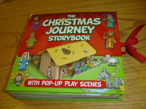 The Christmas Journey Storybook - With Pop-Up Play Scenes / Follow Mary and Joseph to Bethlehem