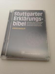 Stuttgarter Erklärungsbibel (Elektronisch) / Lutherbibel 1984 mit Apokryphen  / Stuttgart Study Bible Software (Electronic) / For Windows PC