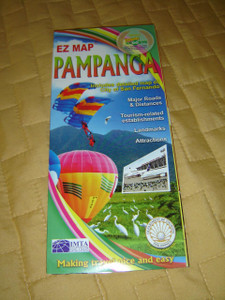EZ Map: Pampanga / Includes Detailed Map of City of San Fernando