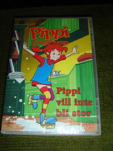 Pippi Långstrump: Pippi Vill Inte Bli Stor / Adventures Of Pippi Longstocking