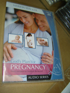 God's Plan for Pregnancy: From Conception to Childbirth and Beyond (Audio Series) / 4 Disc Set