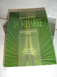 The Message® Bible, Catholic/Ecumenical Edition with Deuterocanonical Writings / The Bible in Contemporary Language
