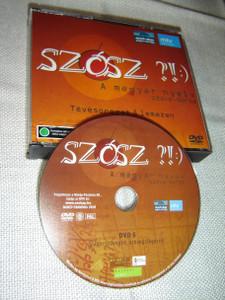 Szósz?! :) A Magyar Nyelv Szava-Borsa – Tévésorozat 6 lemezen [DVD Region 2 PAL]