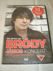 Volt Egyszer Egy Brody Janos Koncert: A Budapest Sportcsarnokban – 14 Legnagyobb Slager [DVD Region 0 PAL]
