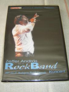Zeffer Andras es a Rock Band: A Legenda Visszater – 2007 Okt. 27 Budapest, Petofi Csarnok Koncert [DVD Region 2 PAL]