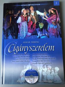Lehar Ferenc: Ciganyszerelem – Hires Operettek, Konyv es CD / Franz Lehar: Gypsy Love – Famous Operattas, Hungarian Language Book with CD / Lehár Ferenc: Cigányszerelem